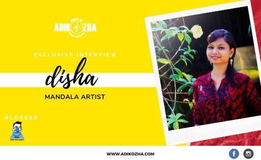 DISHA THE MANDALA ARTIST