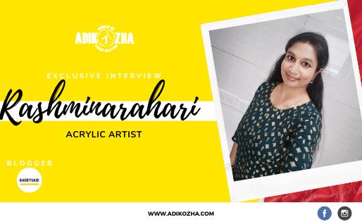 RASHMINARAHARI -THE ACRYLIC ARTIST