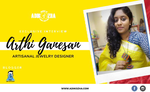 A Physiotherapist who turned into an artisanal jewellery designer!