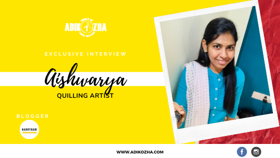 aishwarya the quilling artist