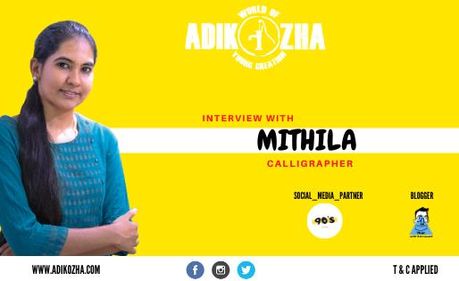 MITHILA - CALLIGRAPHY ARTIST