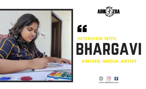 BHARGAVI AN ASTOUNDING ARTIST!