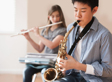 Saxophone, Student Feature, Teacher Alumni Update!