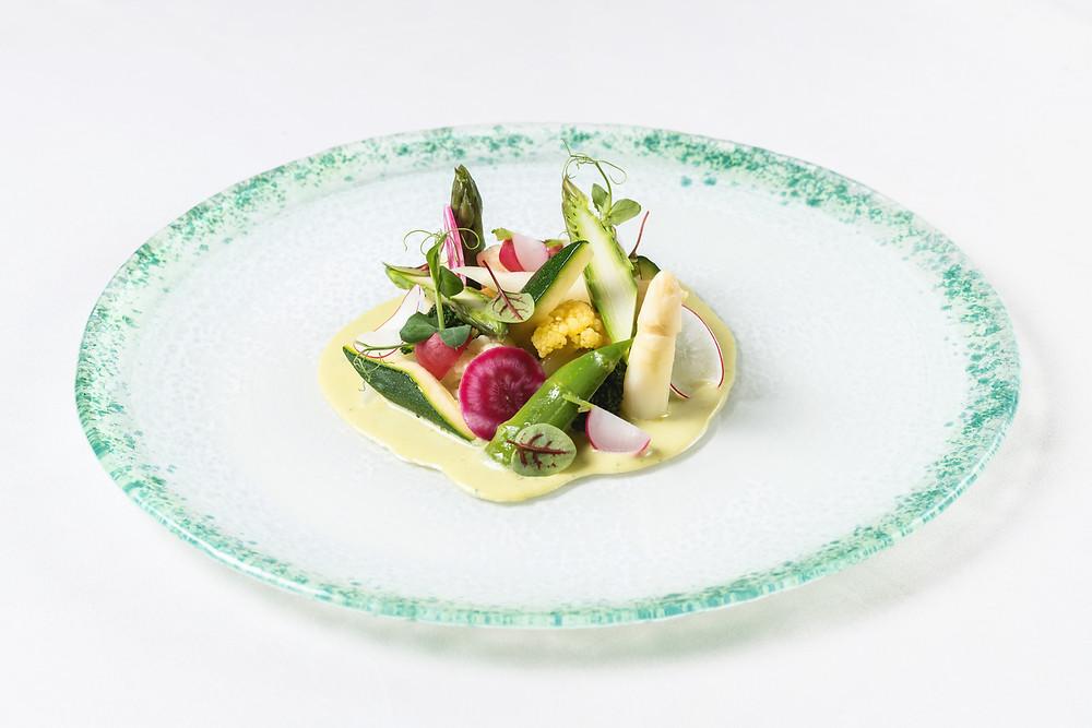 Emporio Armani Caffè assiette Giardinetto di verdure