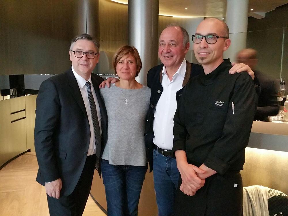 Emporio Armani Caffè & Ristorante Chef Marc Haeberlin