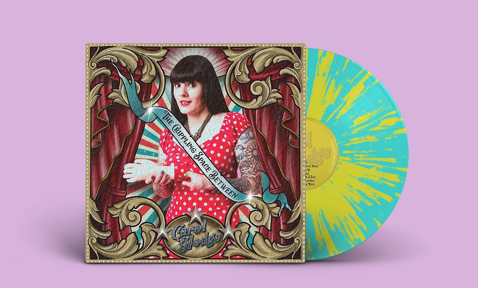 "The Crippling Space Between - SUNBURST 12"" Vinyl  (plus DL)"