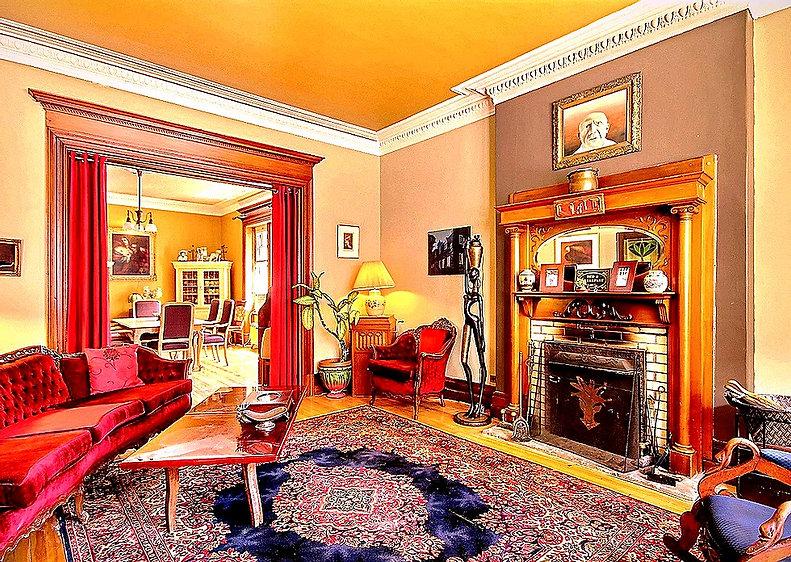 The lounge B&B La Marquise de Bassano