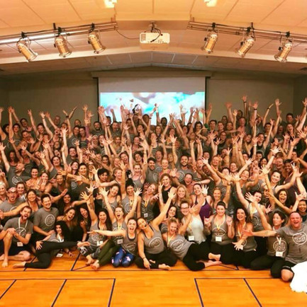 Our Baptiste Yoga family!