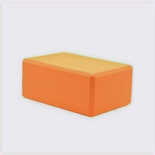 Barefoot Eco Foam Yoga Block - (Orange) - Used Studio Equipment