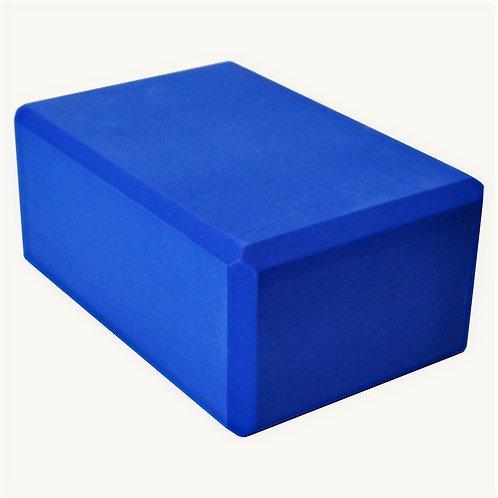 Barefoot Eco Foam Yoga Block - (Dark Blue) - Used Studio Equipment