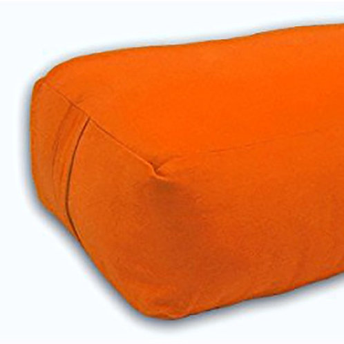 Barefoot Yoga Rectangular Bolster - (Orange) - Used Studio Equipment