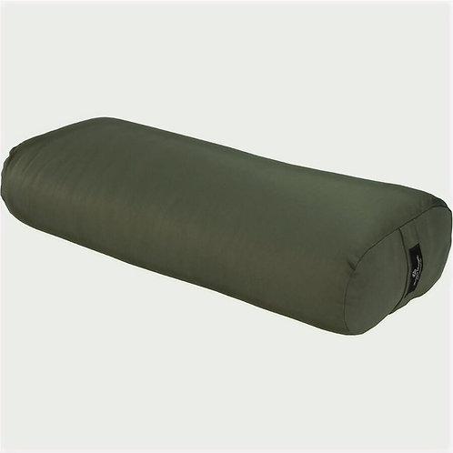 Hugger Mugger Standard Yoga Bolster - (Olive) - Used Studio Equipment