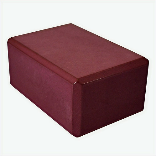 Barefoot Eco Foam Yoga Block - (Maroon) - Used Studio Equipment