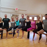 Baptiste Yoga friends!