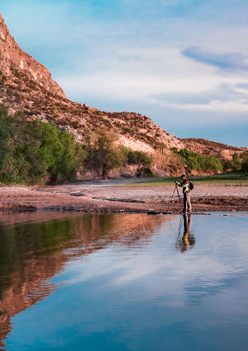 Photographer Reflection Santael