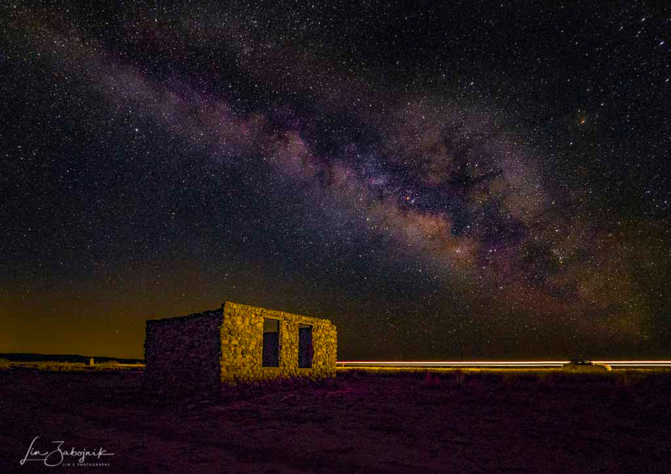 Guadalupe Abandoned Milky Way