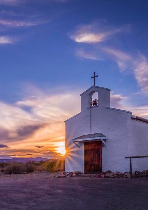Calera Chapel in Balmorhea