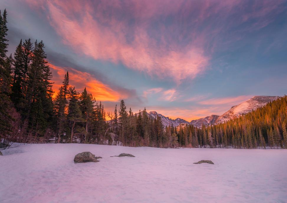 Morning Glow at Bear Lake