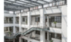 A main staircase and offices in BaoShan