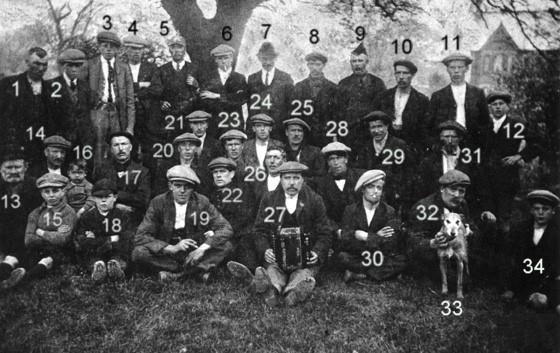 Local miners 1926 Strike