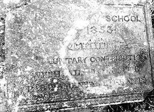 Weslayan Day School Plaque.jpg