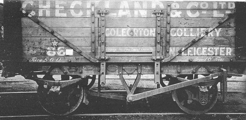 New Lount Colliery Wagon