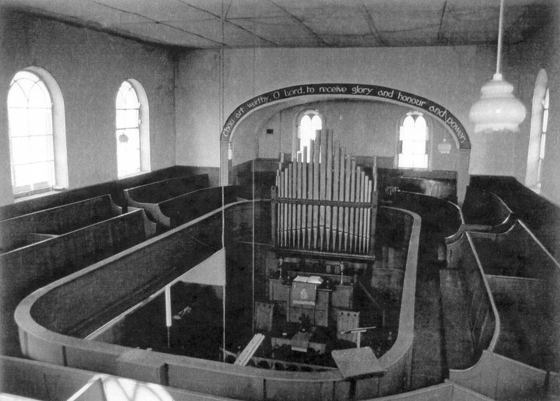 Methodist Chapel Interior
