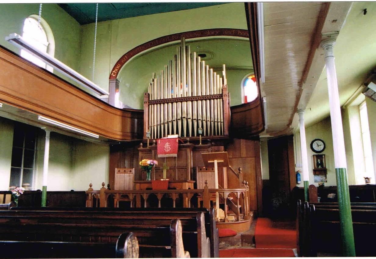 Methodist Chapel Interior 2005