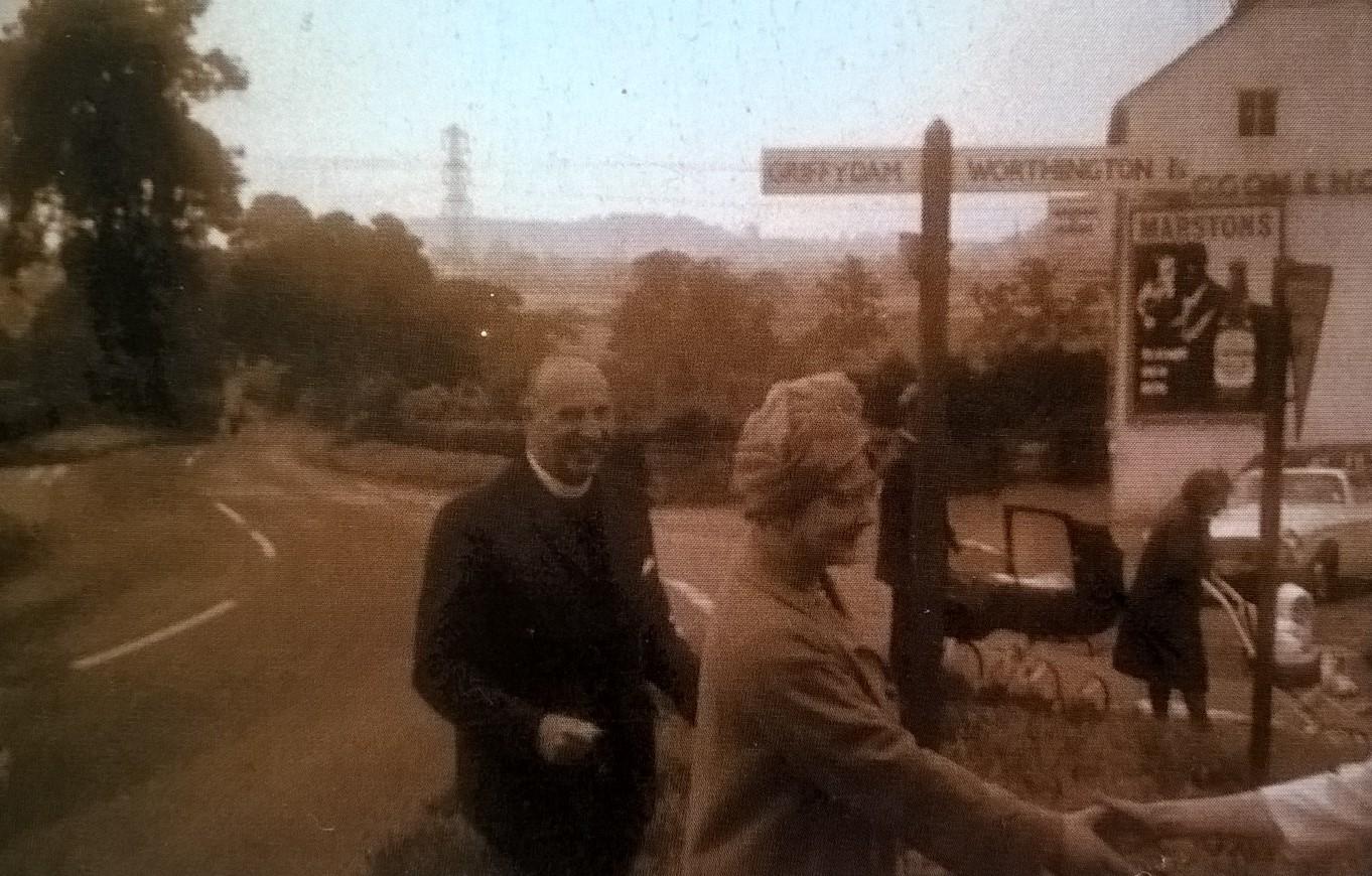 Rev. Abraham Halliday & His Wife