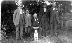 George Kilby With His Sons