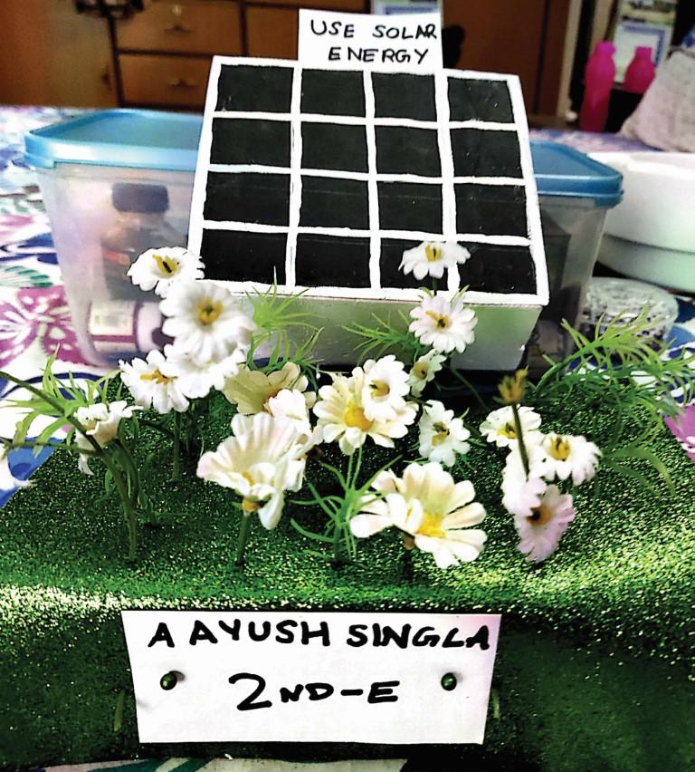 Aayush Singla 2-E  Model On Day World En