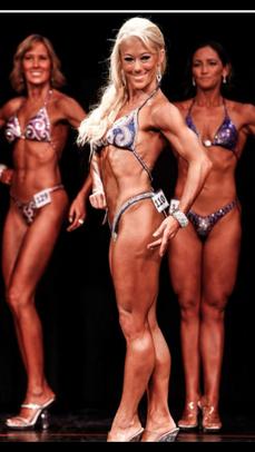 Jamie Scarlett WNBF Figure Pro