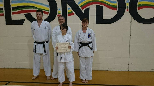 Student of the Month June 2015