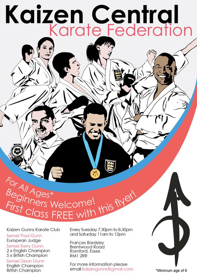 Kaizen Gunns karate club to start in 2015