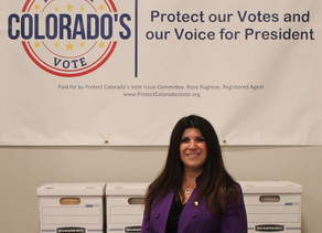 Protect Colorado's Vote Townhall with our Champion Rose Pugliese.