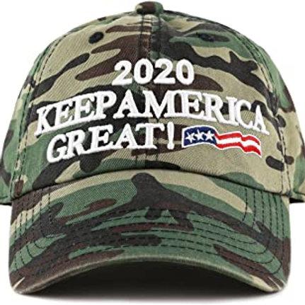 Keep America Great Camo Hat Donation