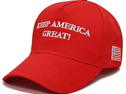 Red Keep America Great Hat Donation