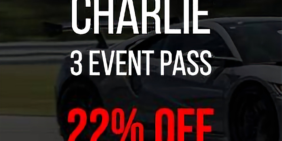 Track Pass (Charlie - 3 Events)