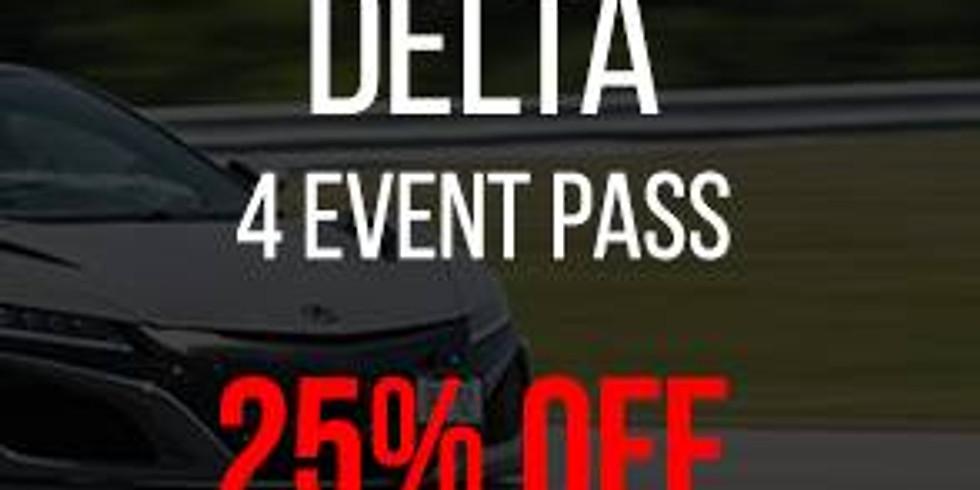 Track Pass (Delta - 4 Events)
