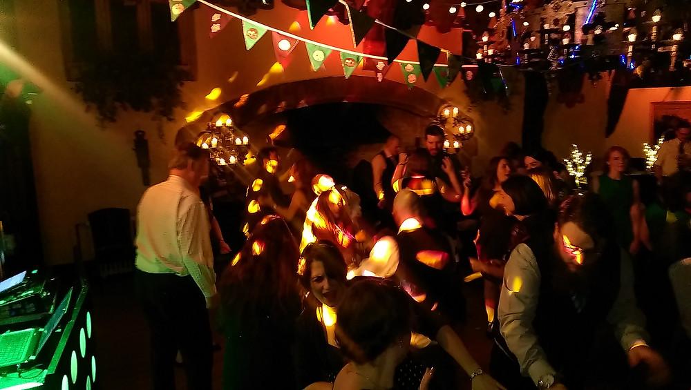 Wedding DJ Andy Richardson at Samlesbury Hall