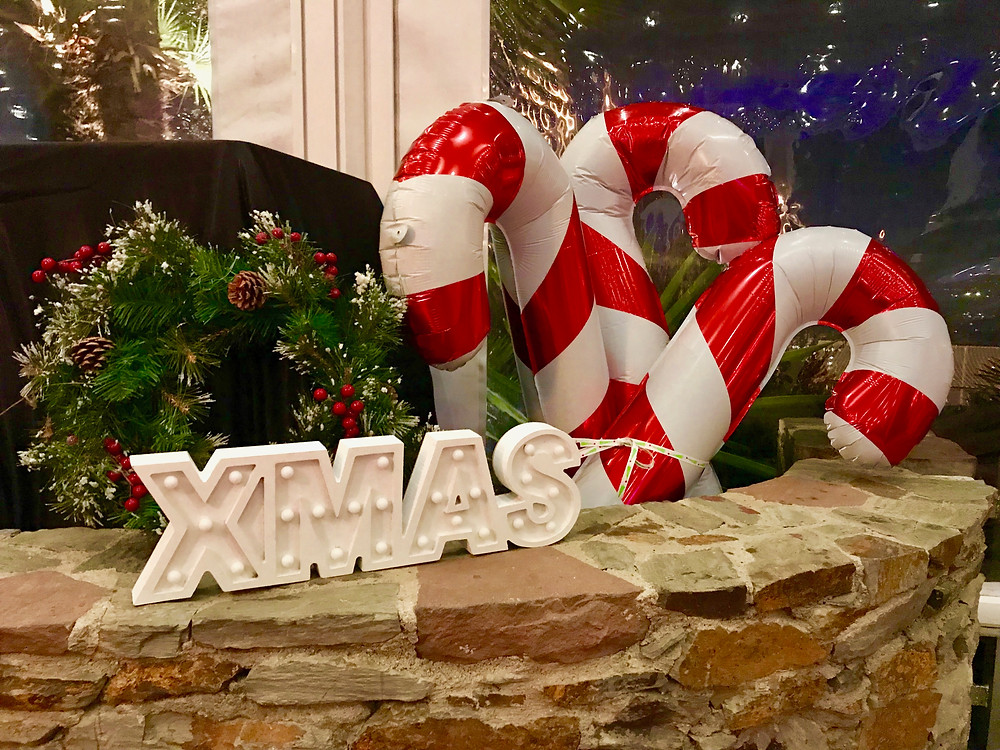 Corporate party Christmas Decorations by Event Barcelona company