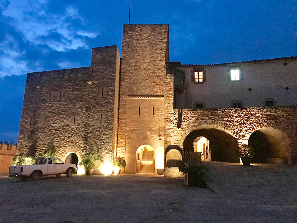Winery castle for an event of Event Barcelona corporate events