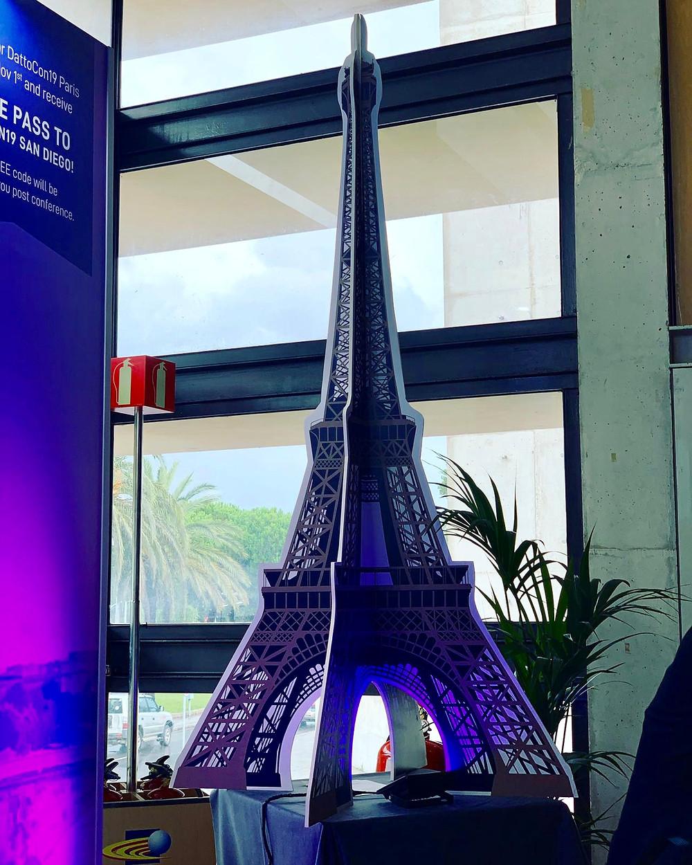 Eiffel tour made for Event Barcelona