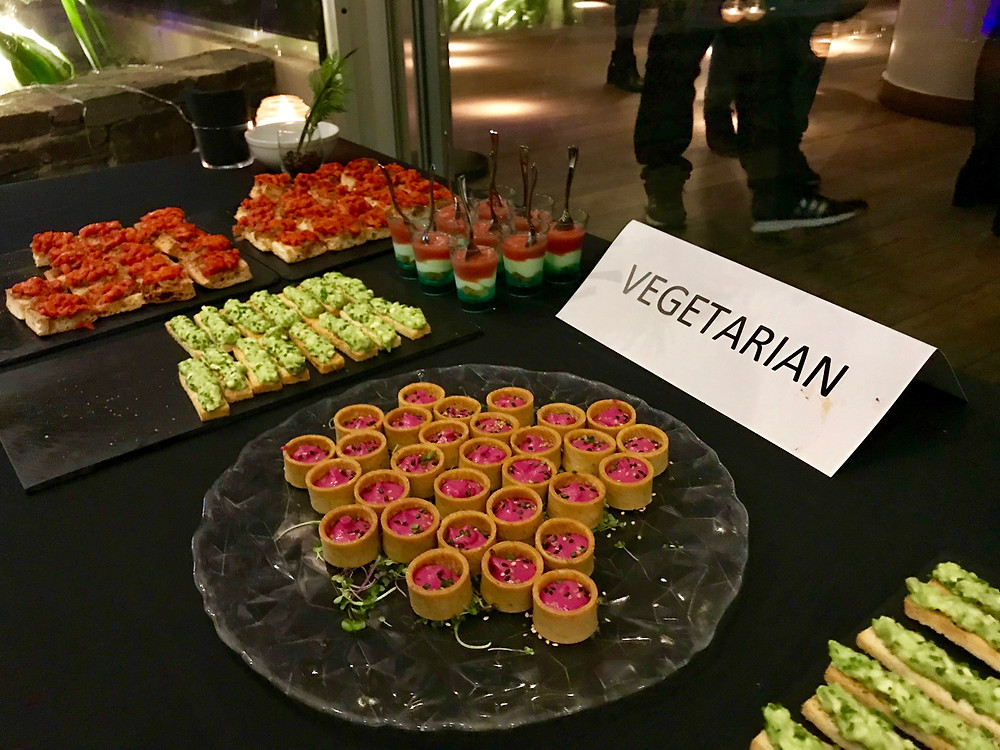 Vegetarian Catering for Christmas company party