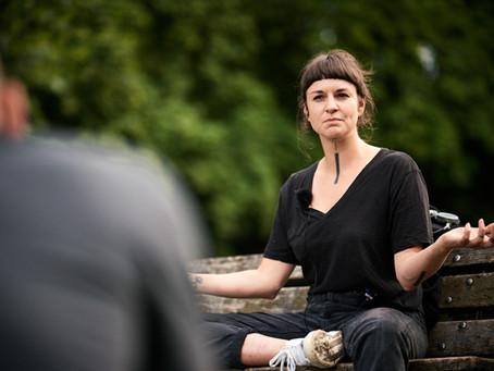 Kuckuck aus der Asche - Schlossteich Talk mit Nadine Rothe vom Kulturbündnis Hand in Hand