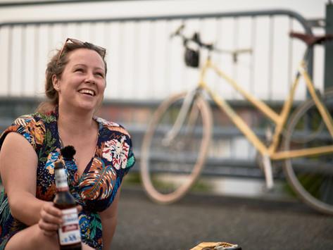 Fahrradkino & Reichweitenangst - Im Gespräch mit Maria Kreußlein