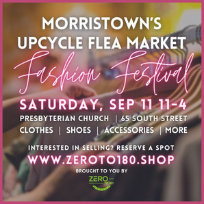 Morristown's Upcycled Flea Market