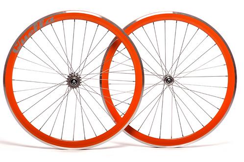 Quella Orange 40mm Deep-V 700c Wheelset
