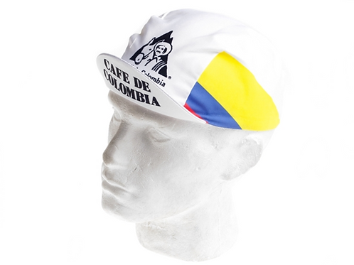 Vintage Cycling Cap - Cafe de Columbia