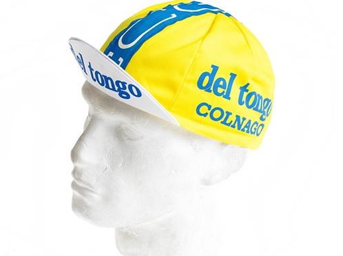 Vintage Cycling Cap - Del Tongo - Colnago